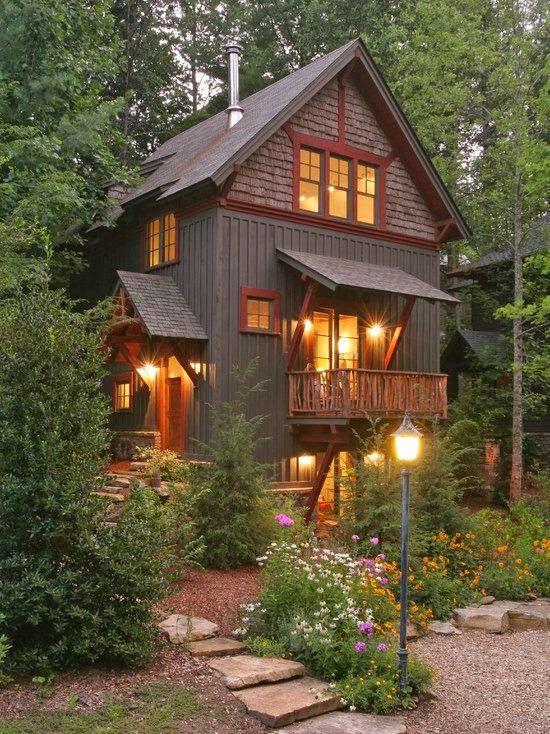 Fachadas de casas rusticas ii fachadas exteriores - Exteriores de casas rusticas ...