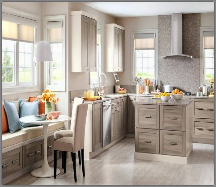 Best Home Depot Kitchen Cabinets Persian Gray Martha Stewart 400 x 300
