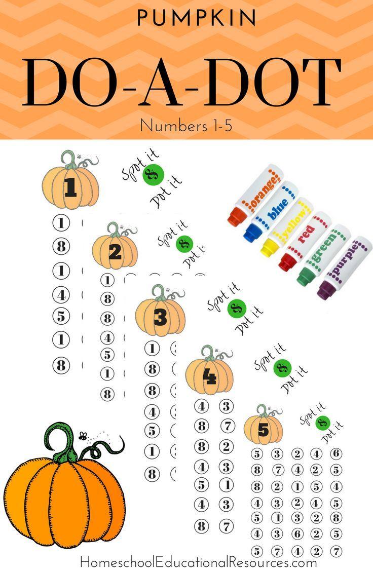 DoADot Number Find Do a dot, Homeschool supplies