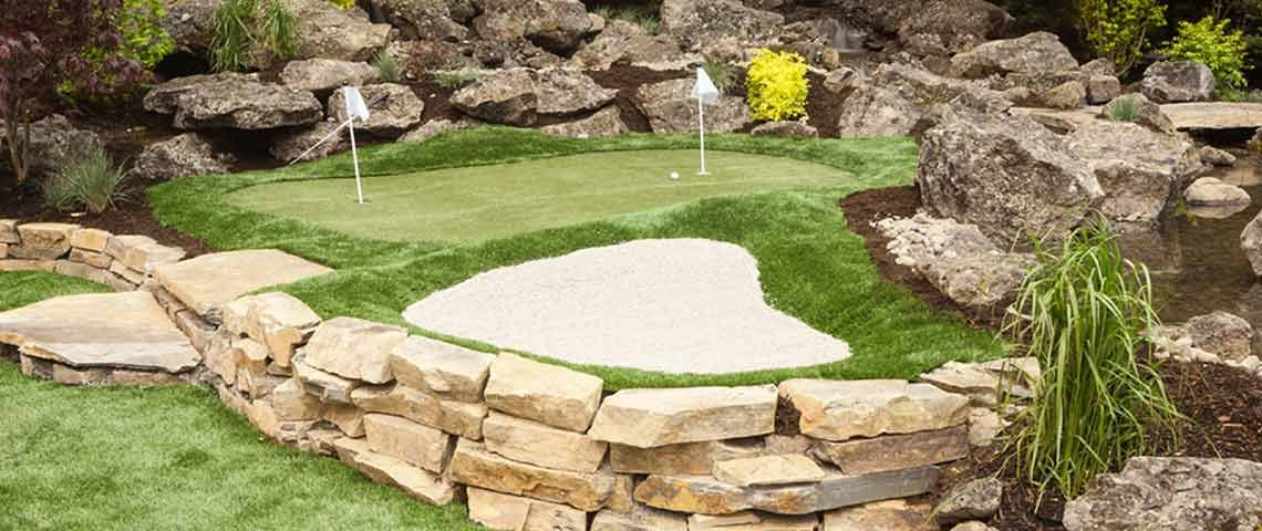 Living the Golfer's Dream: Your Own Backyard Putting Green ...