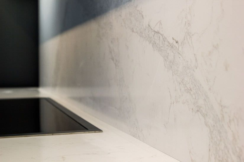 Quartz countertop / Caesarstone® / made from recycled