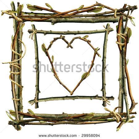 Twig Frame Stock Photos, Royalty-Free Images & Vectors - Shutterstock