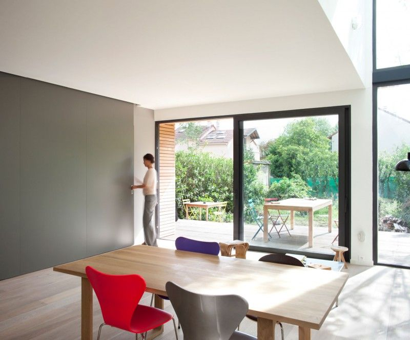 Eco-Sustainable House by Djuric Tardio Architectes & Eco-Sustainable House by Djuric Tardio Architectes | Grey walls ... pezcame.com