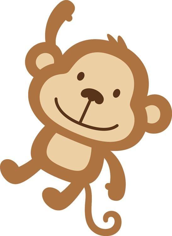 Monito Dibujos Animales Bebes Animados Niños Dibujos Animados Y