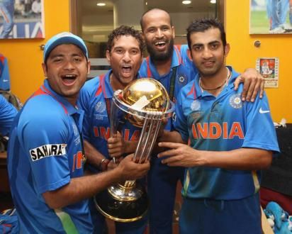 Free Hot Gautam Gambhir With Team Photos Wallpapers Hd Wallpapers Download Cricket World Cup 2011 Cricket World Cup 2015 Cricket World Cup