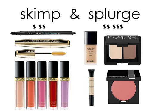 On a beauty budget? Here's where to skimp and splurge