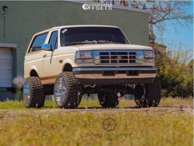 1995 Ford Bronco 22x14 76mm American Truxx At166 In 2020 1995 Ford Bronco Ford Bronco Bronco