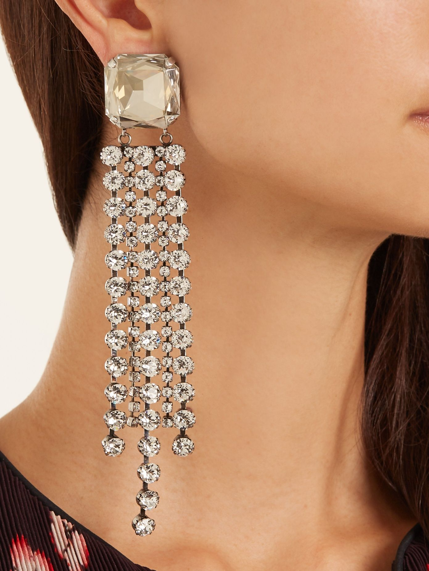 Verrassend Click here to buy Isabel Marant Crystal-embellished clip-on NU-61