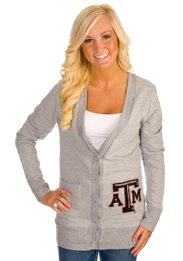 9e96a25d0ab Cute sweater! #CollegeColors | College Colors Day | Texas A&M, Texas ...