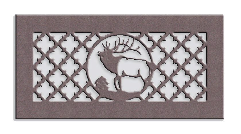 Elk Medallion Metal Vent Cover Vent Covers Vent Covers