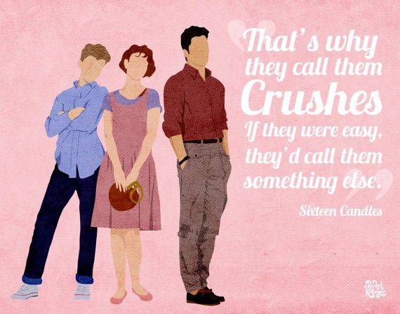 Sixteen Candles Print Favorite Movie Quotes 80s Movie Quotes Sixteen Candles