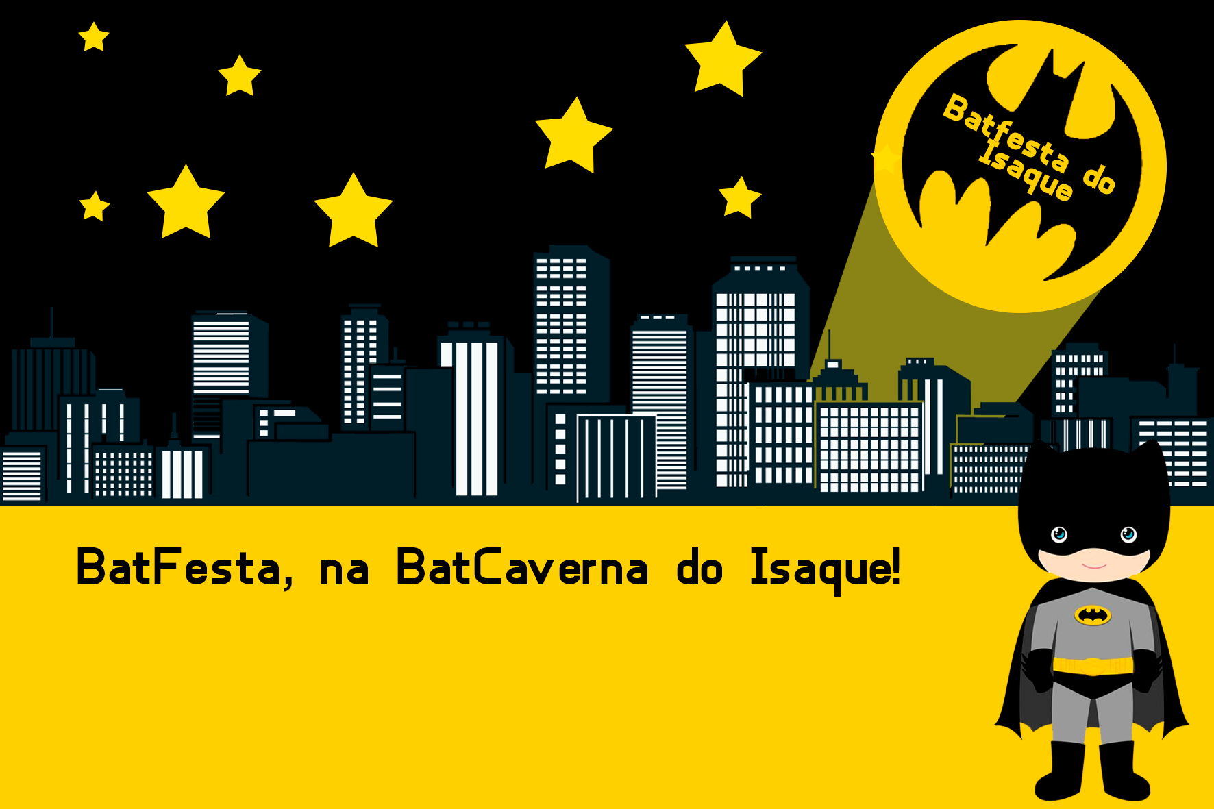 Convite De Aniversário Batman Criativo Jpeg E Pdf V Roku 2019