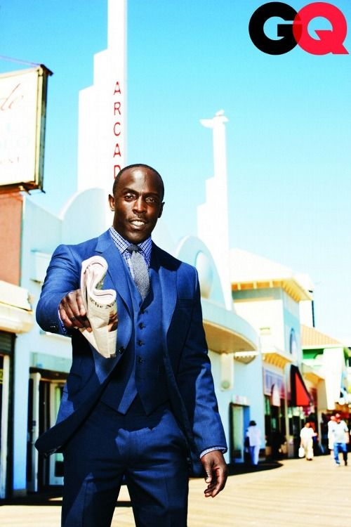 Michael K. Williams. AKA Omar Little from The Wire and Chalky White ...