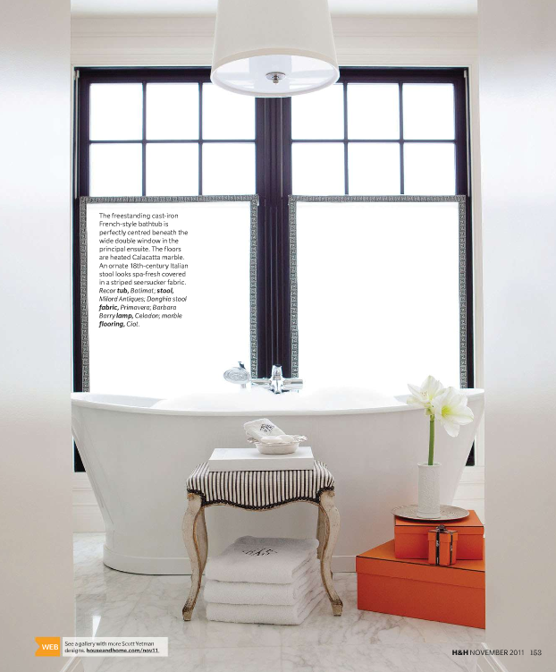 Interior Design by Scott Yetman Gorgeous Styling in Canadian