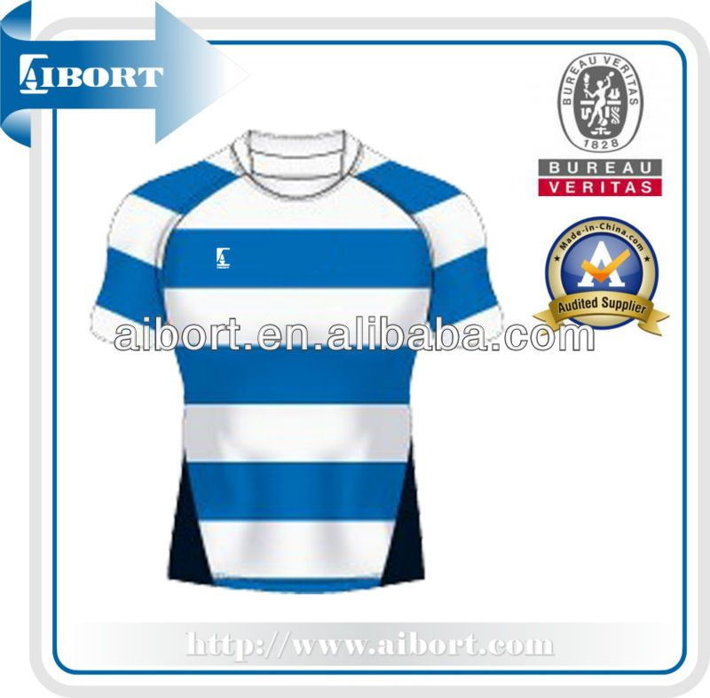4f5cfed878 SUBRG-881 sublimated white blue striped rugby jersey #rugby_clothing,  #Sleeve