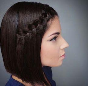 10 Trenzas para cabello corto hazlo viendo este tutorial