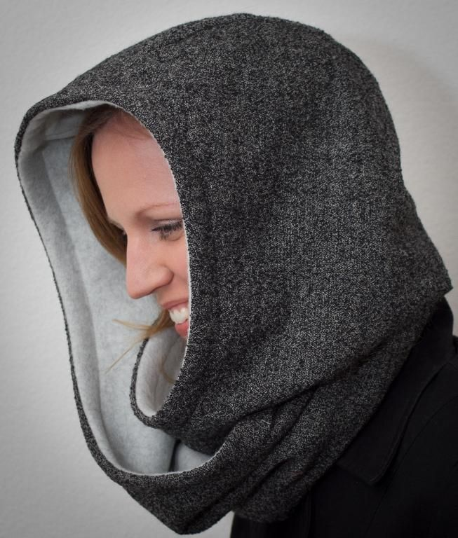 9) Name: \'Sewing : Hooded Scarf Pattern | Scarves | Pinterest