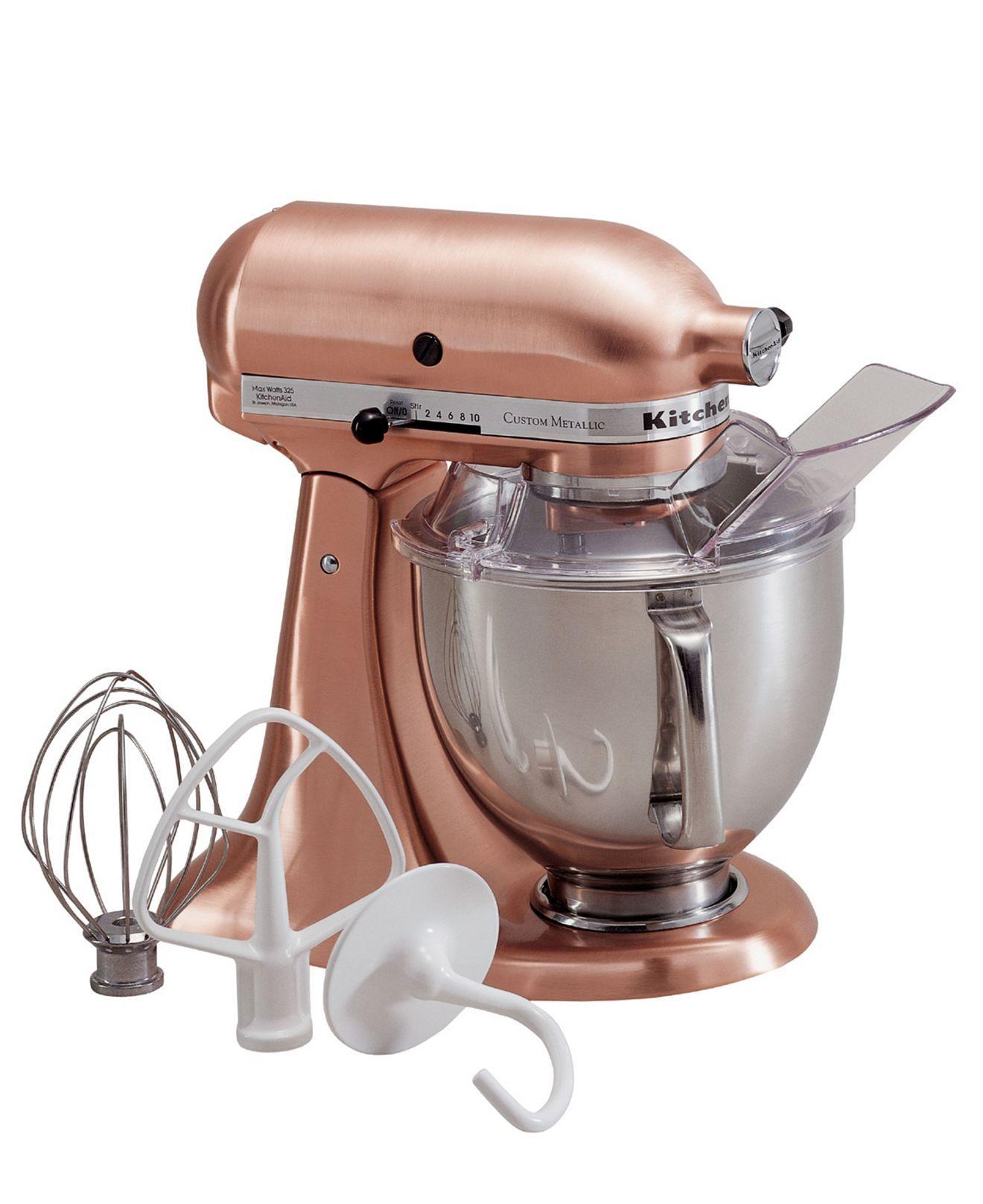 Artisan 5 qt custom metallic stand mixer ksm152ps