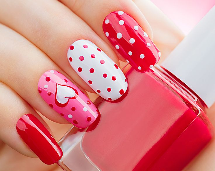 Nail art ideas for Valentines Day! | Salon Sites | Pinterest ...