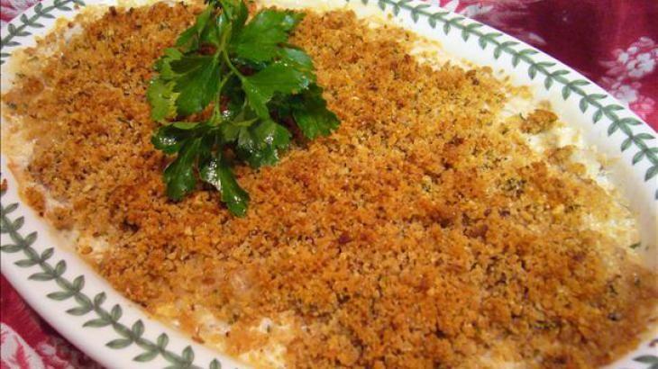 Seafood Newburg Casserole