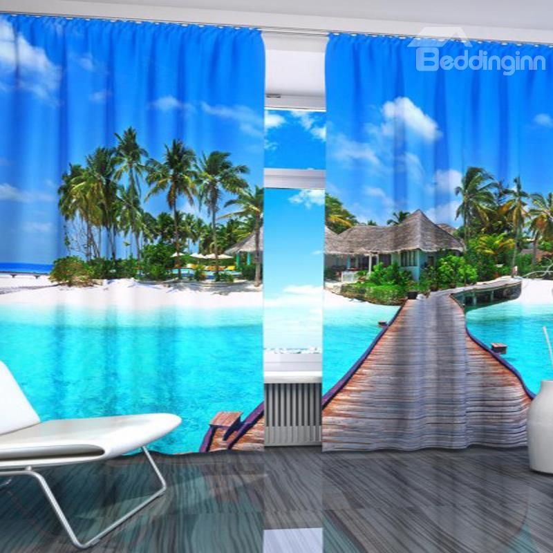 Macy S With Images 3d Curtains Beach Themed Bedroom
