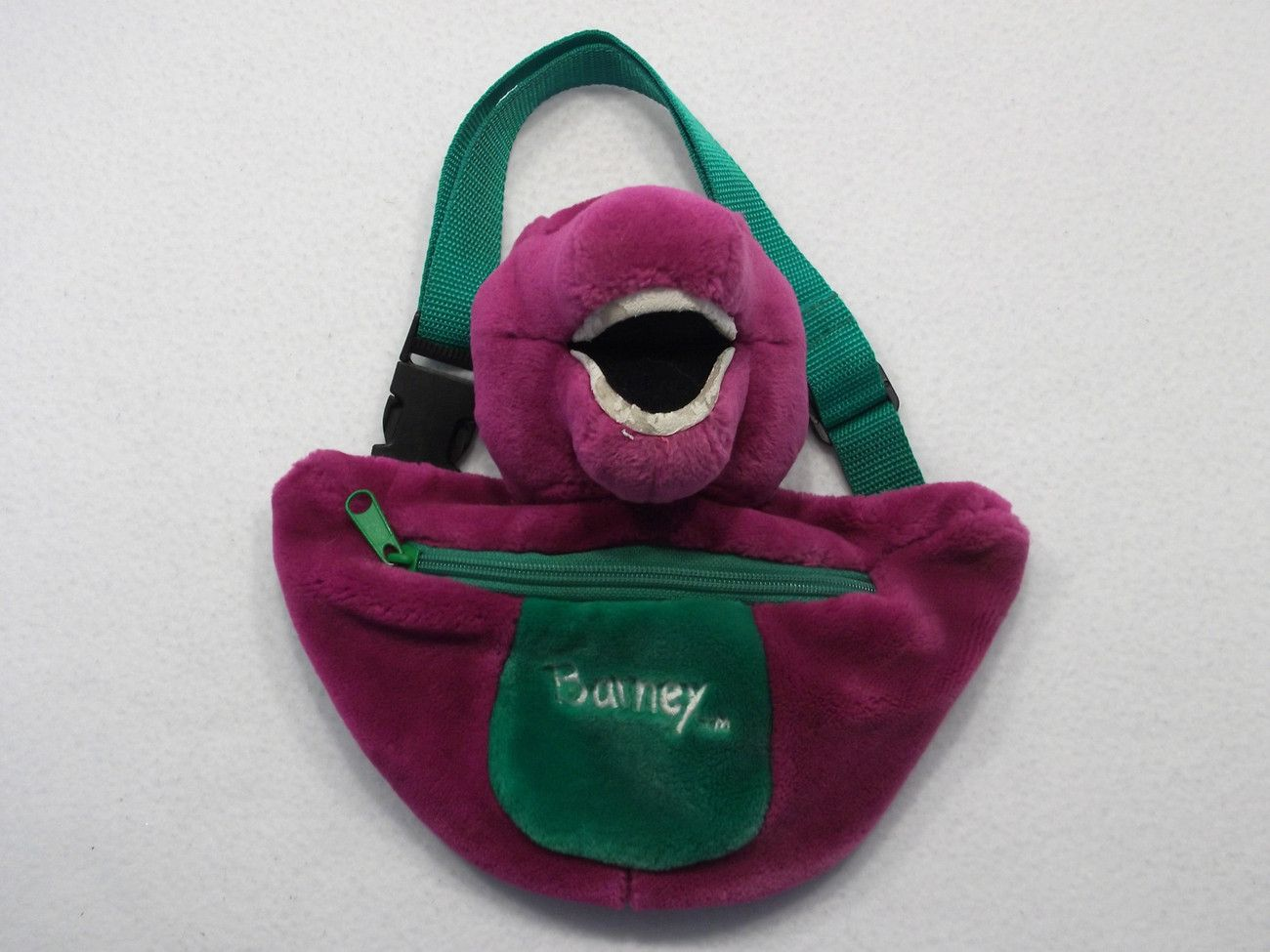 barney the purple dinosaur plush child pack barney