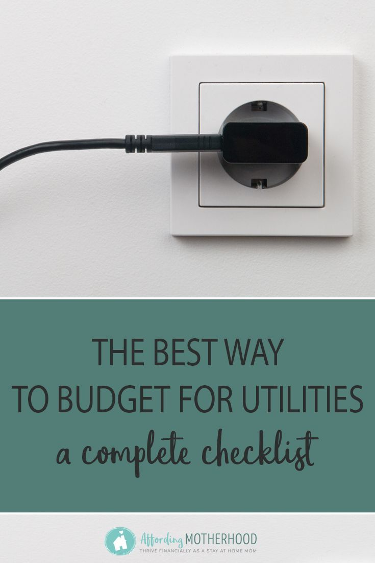 Wondering how much to budget for utilities? This article will show you how to be spot on with your utility budget every month — even when costs fluctuate between high and low, with average utility bill amounts for families. #utilitybills #frugalliving #personalfinance #budgeting