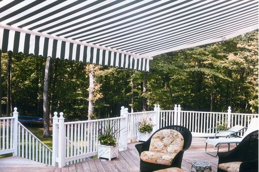 Sunstar Awning For Deck Canvas Awnings Patio Retractable Awning