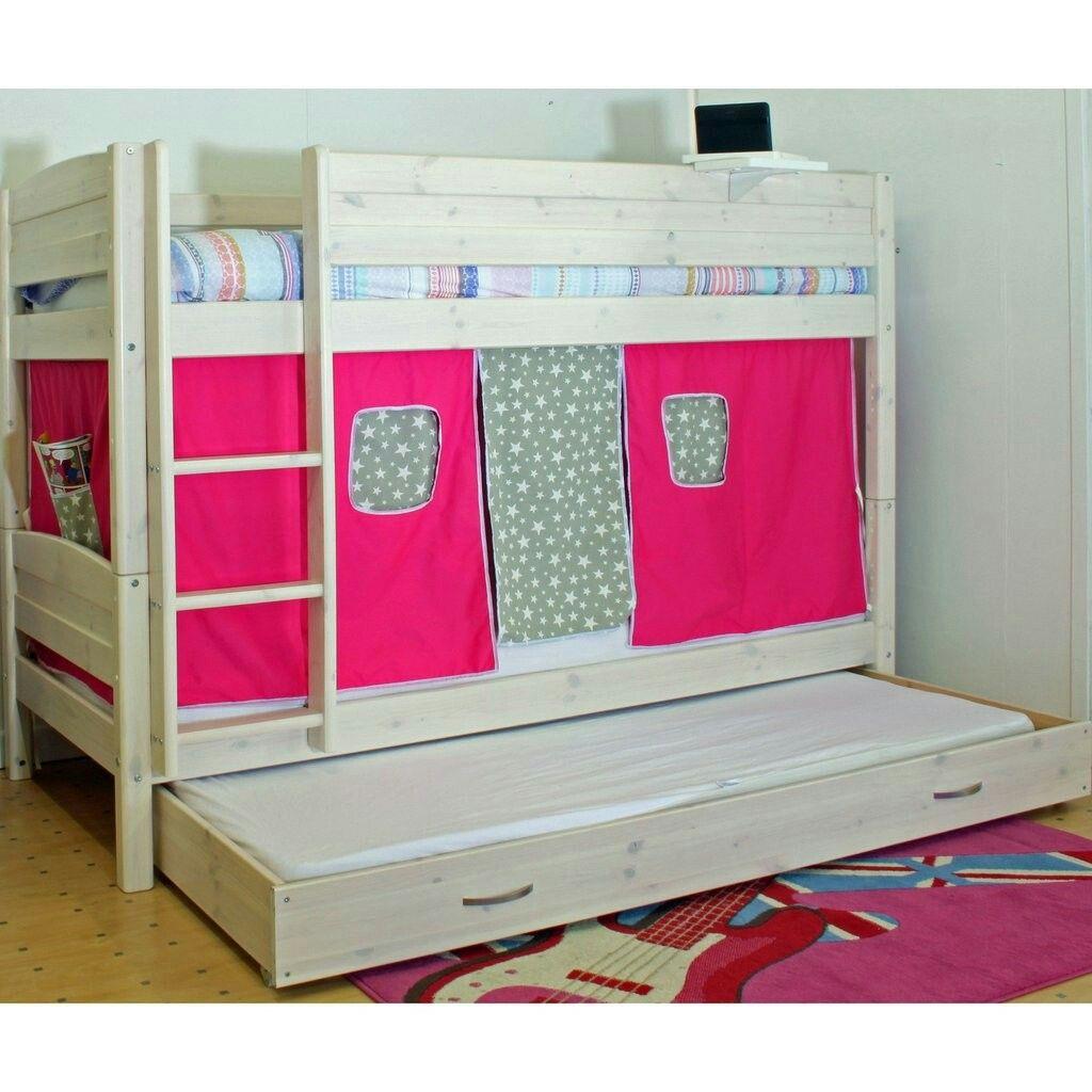 Pine bunk beds with storage - Thuka Trendy Bunk Bed Is A Solid Pine Bunk Bed With Storage In An Attractive Whitewash