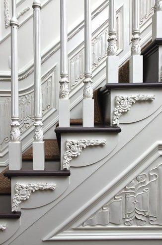 Detailing 美しい階段 イギリスの家 階段のアイデア