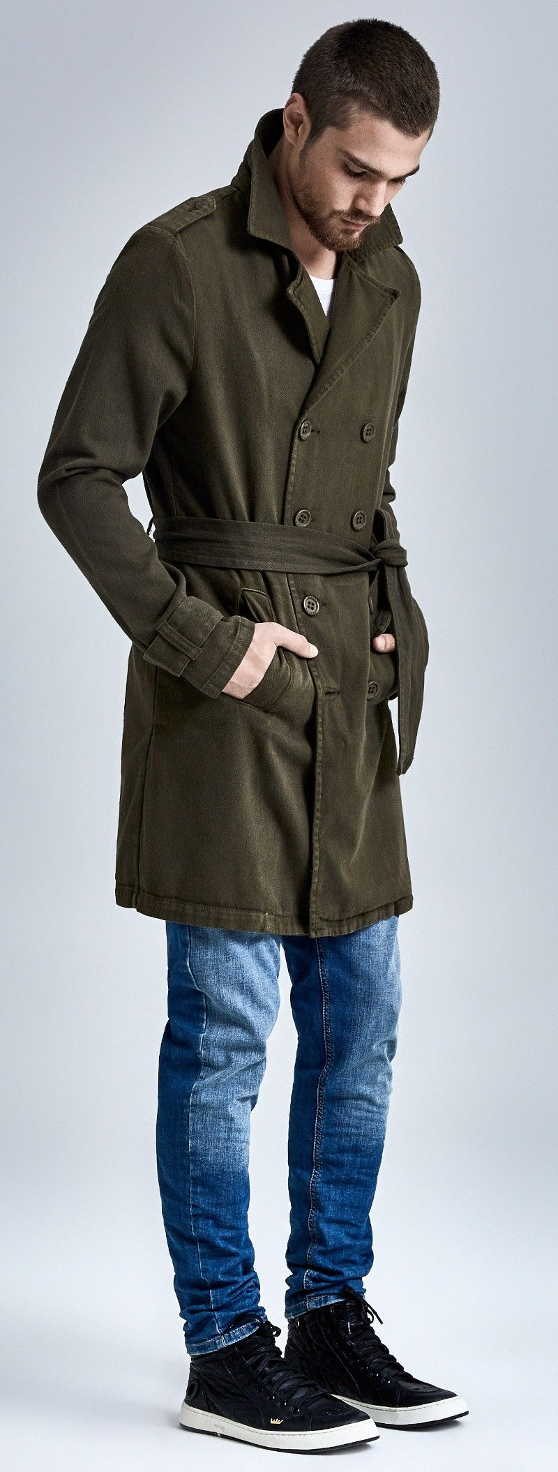 TRENCH COAT SOFT TWILL $ 897,00