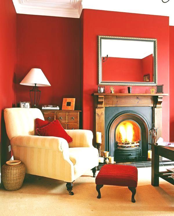Red Living Room Decor, Feng Shui