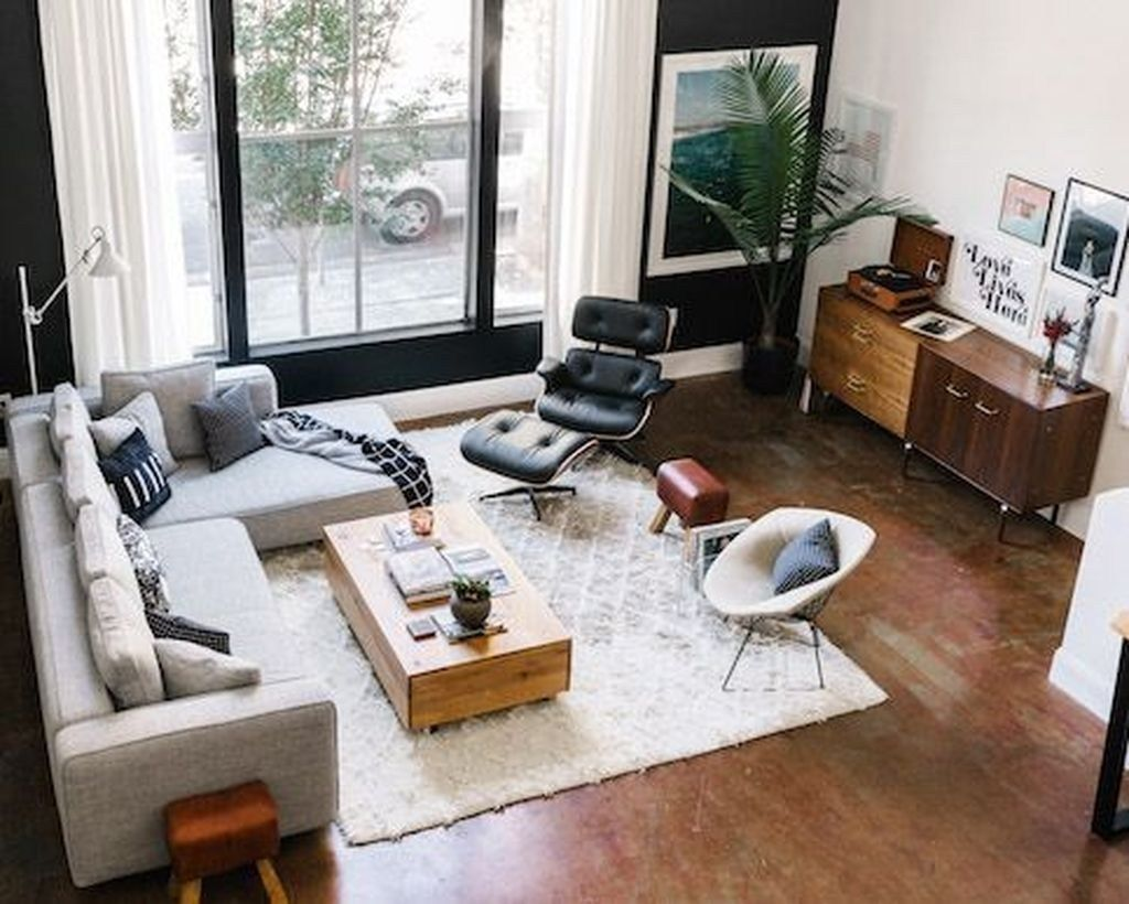 46 Amazing Living Room Design Ideas For Apartment Home By X Eames Lounge Chair Living Room Eames Chair Living Room Lounge Chairs Living Room