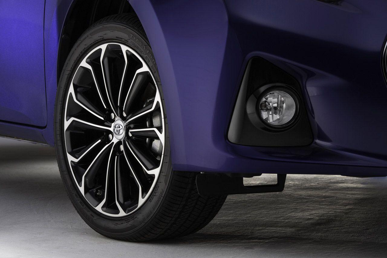 2014 toyota corolla gets bold new look optional wheels