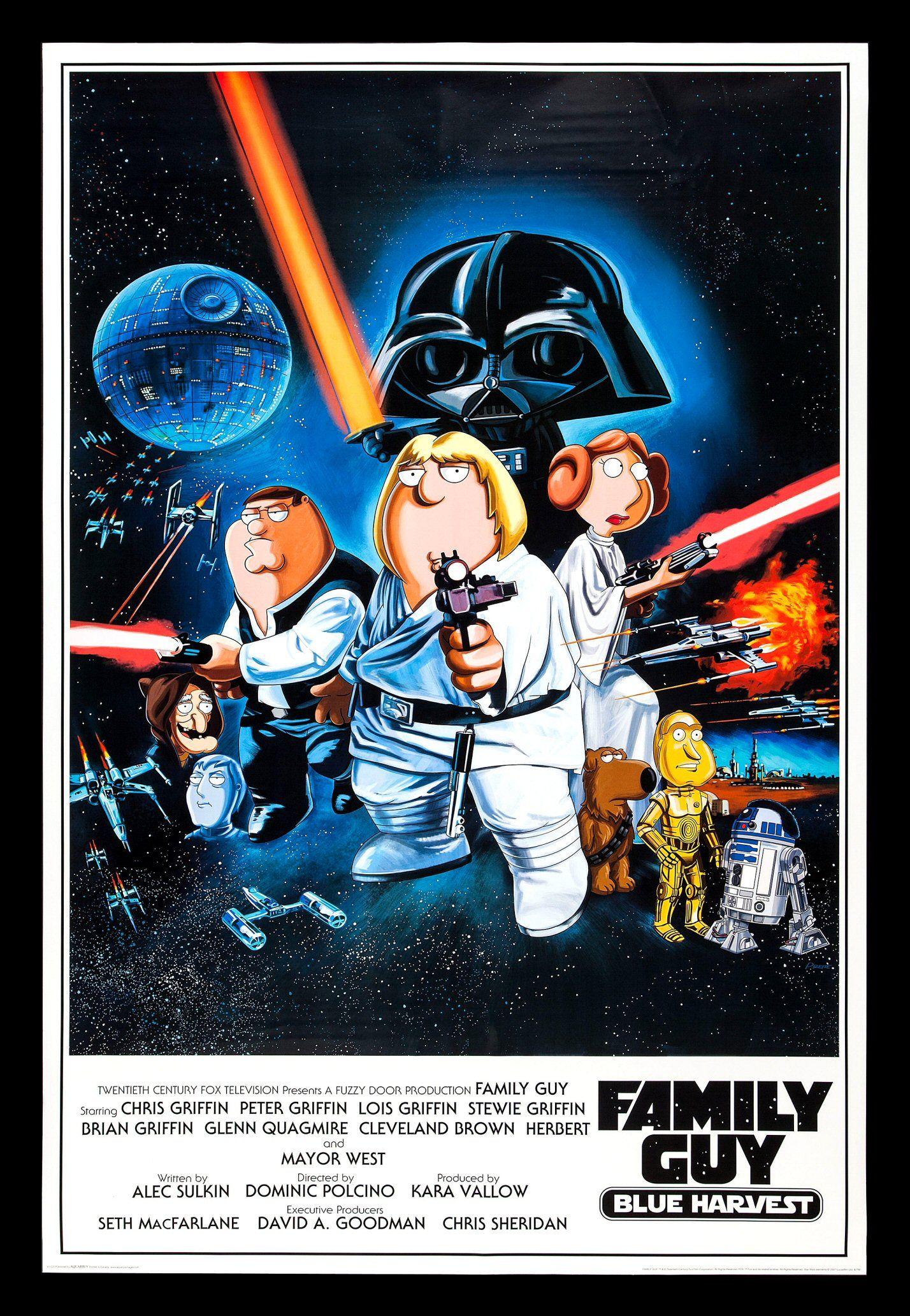 1112015 Family Guy Blue Harvest (2007) Star wars