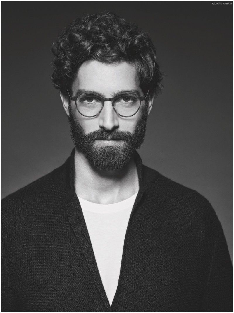 Giorgio Armani Glasses Frame Mens : Giorgio Armani Frames of Life 2015 Campaign Giorgio ...