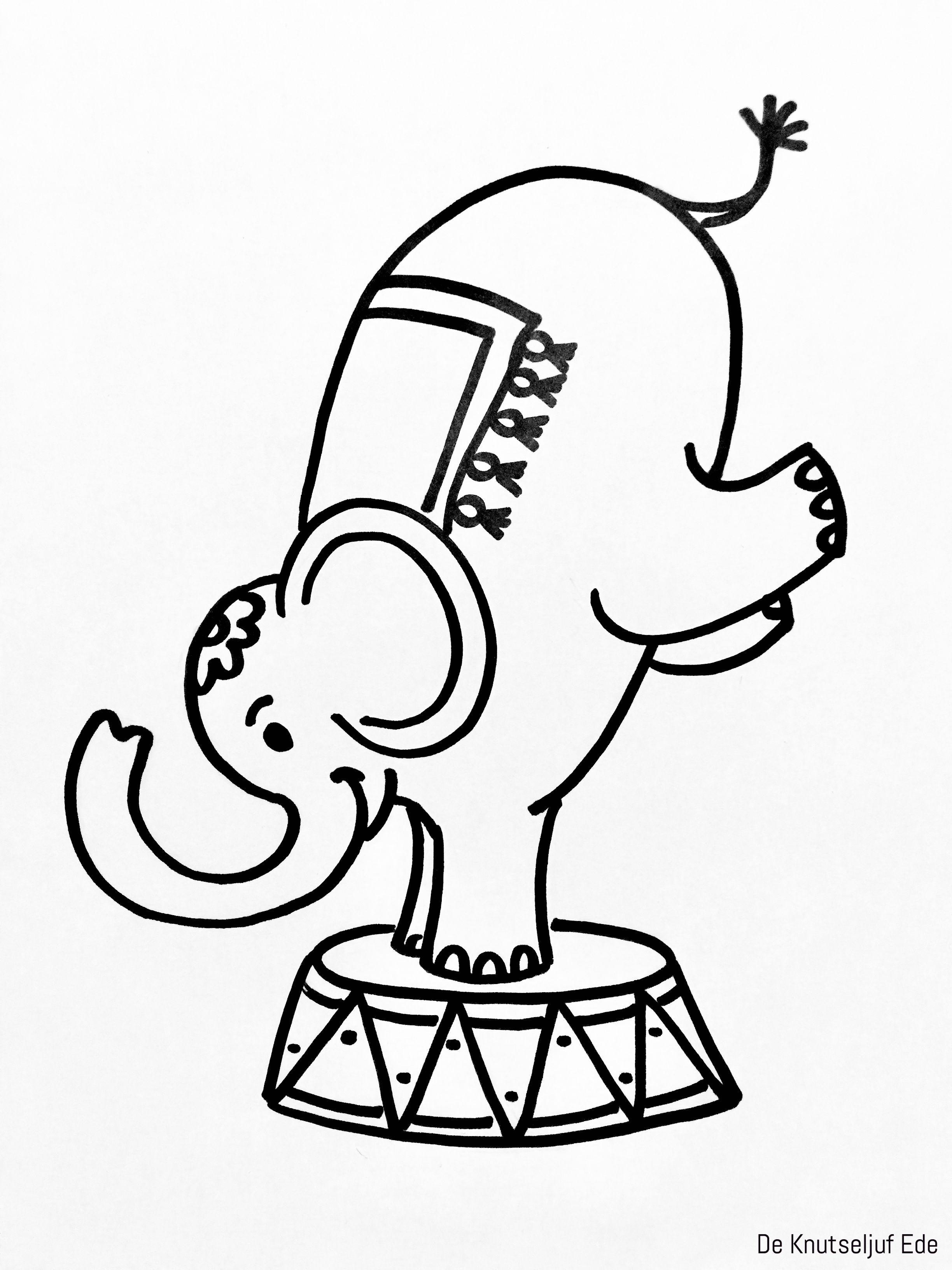 Circus Olifant Knutselen Van Karton En Wasknijpers Circus Knutsel Ideeen Knutseltips Circus 6 Circus Olifanten Olifant Knutselen Circus