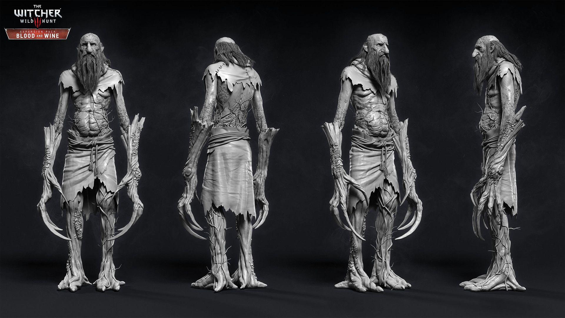 ArtStation - The Witcher III - Spriggan, Marcin Blaszczak