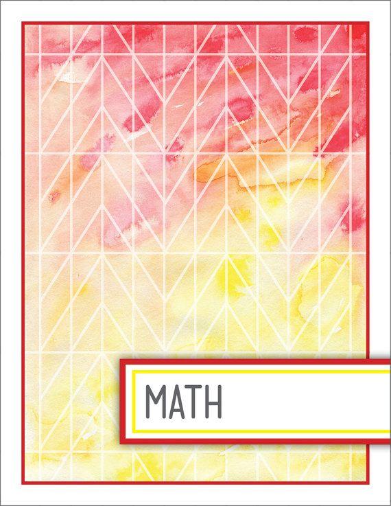 Math Book Cover Diy ~ Science binder cover tumblr google search school prep