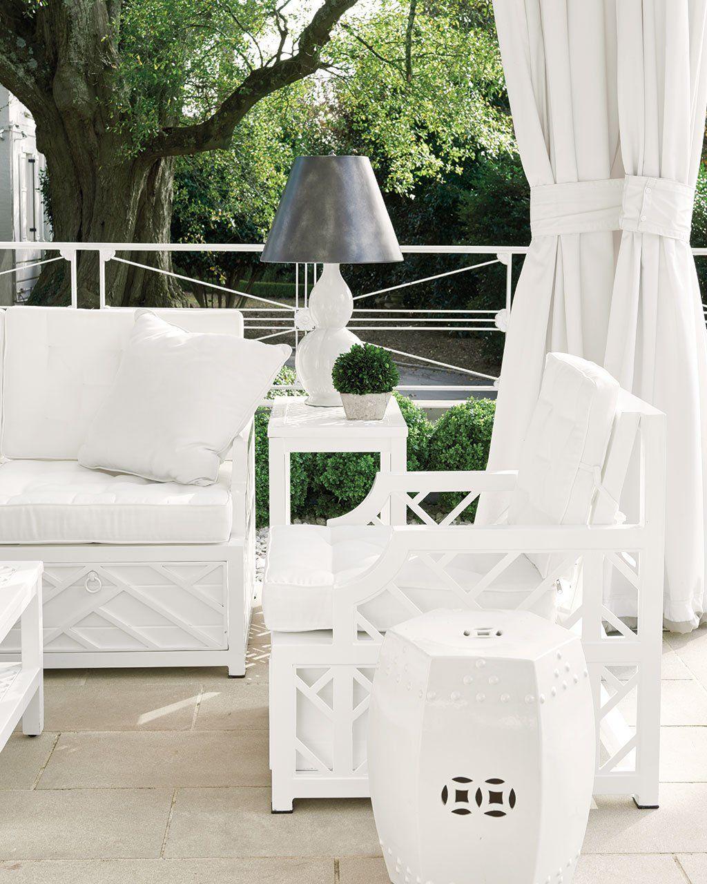 Miles Redd S Bermuda Outdoor Collection For Ballard Designs