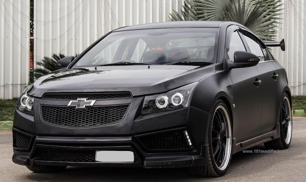 Modified Chevrolet Cruze Matte Black (Holden Cruze, - 2nd ...