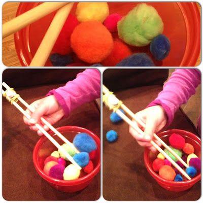 Playful Creations: Chopstick Pick Up