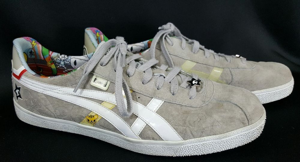 new product c3ea5 44ab0 Onitsuka Tiger Shoes Sneakers D935L Gray Suede by Asics ...