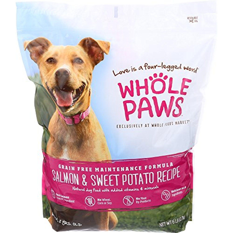 Whole Paws Adult Maintenance Dog Food Formula Salmon Sweet