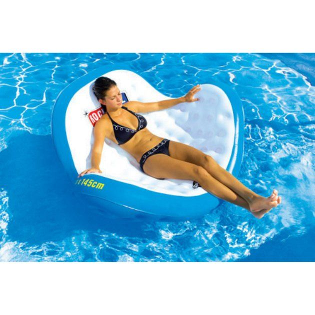 Sportsstuff Rock N Roll Inflatable Lounge Swimming Pool Floats At
