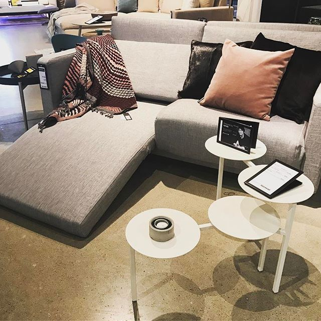 Our Popular Melo 2 Sofa With Reclining And Sleeping Function Fusion Coffee Table By Nendo Boconcept Boconceptsf Boconceptusa Sfdesigndistrict S Vardagsrum
