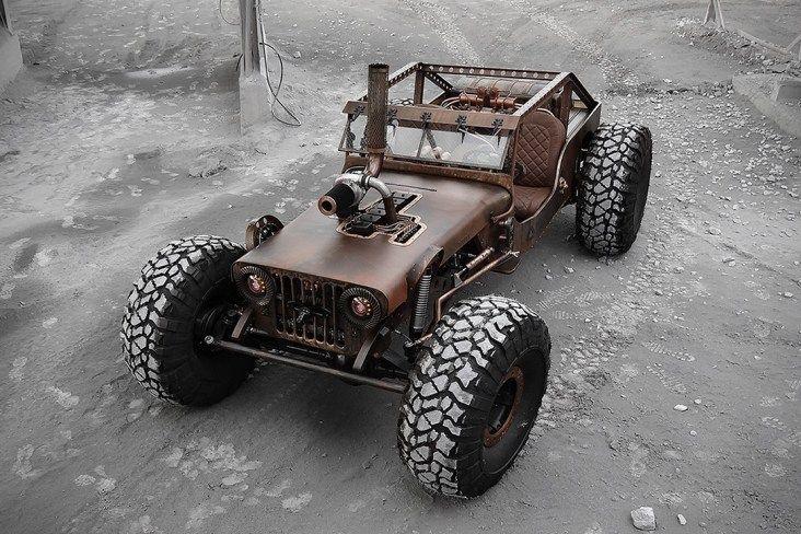 Hauk Designs le da al Jeep CJ2A 1947 la modificación Mad Max que se ...
