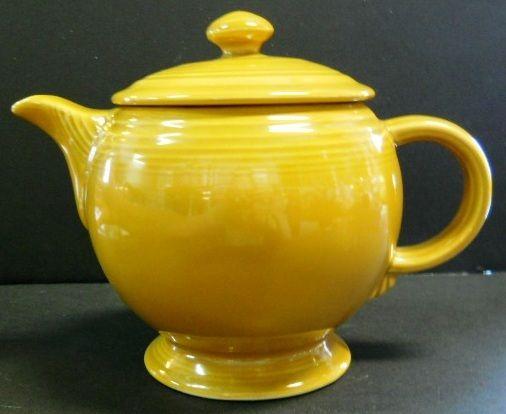 Homer Laughlin Fiesta Tea Pot Thires Pinterest