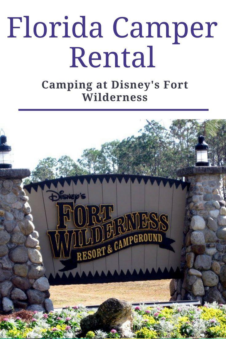 Camping at disneys fort wilderness resort campground