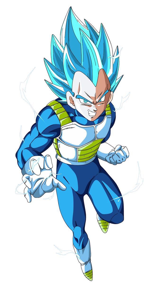 vegeta super saiyajin dios azul by naironkr on DeviantArt